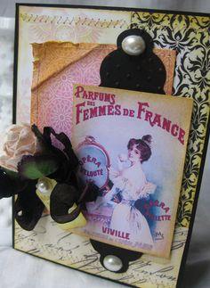 Parfumes des Femmes de France carte