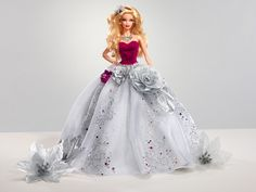 Glitter gets even glitzier with this spotlight-stealing holiday doll. Barbie Holiday Sparkle.