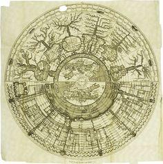 'Spiegazione della Carta Istorica dell'Italia'  (Historical map of Italy) by Girolamo Andrea Martignoni
