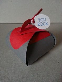 Paper Curiosities: Good Curling!  You Rock!  Occasions Catalog, Crazy about You, Curvy Keepsake Box