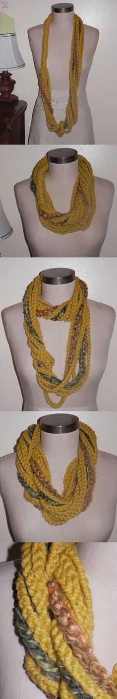 Yarn Chain Scarf/Necklace - Please let me know your thoughts, if you like it or not.