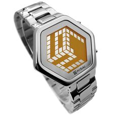 Kisai 3D digital watch by Tokyo Flash - i believe it says its 10:27 #clock #watch #awesome
