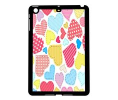 Protective iPad Mini Case Stitch N' Hearts. $21.00, via Etsy.