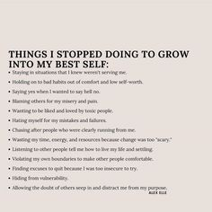 Motivacional Quotes, Words Quotes, Life Quotes, Pretty Words, Cool Words, Note To Self, Self Love, Mental And Emotional Health, Self Care Activities