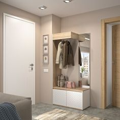 innenarchitektur holz Ivy Bronx Thiele W Plus Hallway Unit Entrance Decor, House Entrance, Hallway Unit, Flur Design, Hallway Furniture, Modern Furniture, Hallway Designs, Hallway Ideas, Tuscan Design