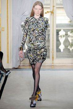 Balenciaga Fall 2009 Ready-to-Wear Fashion Show - Gwen Loos