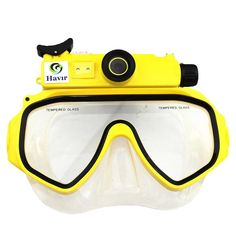 Scuba Series 720P Waterproof Digital Diving Camera Mask Underwater $78
