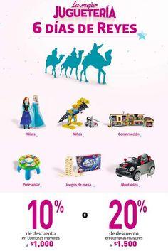 Oferta Liverpool 6 días de reyes en juguetes