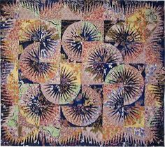 Japanese Fan ~ Quiltworx.com, made by Cathie Sollman