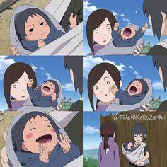 Sasuke's acting like a brat hahhhaha one of the funniest itachi scene ever!