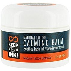 Keep Your Ink - Natural Tattoo Calming Balm - 1.4 oz. -- To view further for this item, visit the image link. (This is an affiliate link) #TattooSupplies