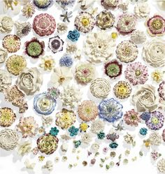 Anna Sheffield / Flower CULTure Sevres porcelain flowers are so...