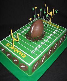 Ducks Football  by Cake Diane Custom Cake Studio (eyedewcakes), via Flickr