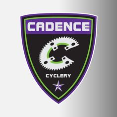 "Cadence Cycling 3"" Logo Decal"
