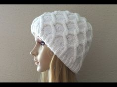 How To Knit A Diamond Cable Hat, Lilu's Knitting Corner Video # 7 - YouTube