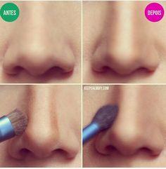 Makeup For Nose.