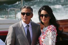 George Clooney and Amal Alamuddin wedding: The famous congratulate ...