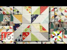 Have Fun With Half-Square Triangle Quilt Blocks