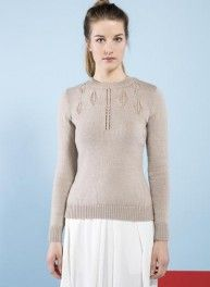 Bergère de France - Special Issue Ideal - #02 Round neck sweater