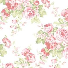 Light Blue Shabby Cottage Chic Wallpaper - Faded Cabbage Rose Bouquet, Vintage Country Garden, Distressed Pink Floral -By The Yard Wallpaper Colour, Chic Wallpaper, Embossed Wallpaper, Green Wallpaper, Rose Wallpaper, Wallpaper Samples, Wallpaper Roll, Pattern Wallpaper, Cabbage Rose Bouquet