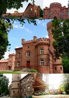 Raudonė Castle, Raudonė, Lithuania.