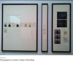 A big wall space but small photos? Answer: A wide mat margin!
