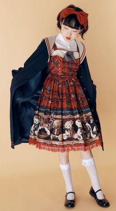 The Sweet Sailor Girl Sailor Lolita Jacket Quirky Fashion, Aesthetic Fashion, Lolita Fashion, Cute Fashion, Aesthetic Clothes, Girl Fashion, Fashion Design, Harajuku Fashion, Japan Fashion