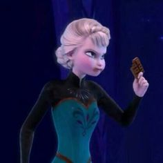 Omg ELSA, I can't even. that's my type of disney princess! Paused Disney Movies, Film Disney, Disney Fun, Disney And Dreamworks, Disney Pixar, Dark Disney, Realistic Disney Princess, Funny Princess, Funny Disney Jokes