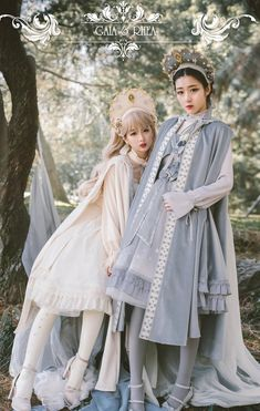 Susin -Gaea and Rhea- Vintage Classic Lolita Cape with Hood