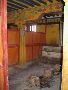 Oldest toilet in Potala Palace, 2006. Submitted by Ina Jurga.
