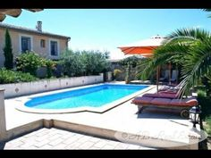 Beautiful Stone House 19th C. For Sale in Nîmes area, Occitanie, South of France http://www.ab-real-estate.com/south_france_property_Nimes_Character_House_2137