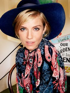 Sienna Miller on SoulCycle, Motherhood, and Her Glamorous '70s Transformation in High-Rise