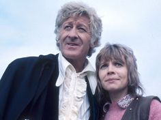 Best pairing--with Katy Manning, who played Jo Grant.
