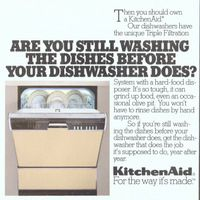 "57 best KitchenAid Appliances images on Pinterest in 2018 | Vintage Kitchen Aid Dishwashers on small dishwasher, kenmore washer, drawer dishwasher, ninja blender dishwasher, kenmore dishwasher, whirlpool dishwasher, ge dishwasher, hotpoint dishwasher, portable dishwasher, frigidaire dishwasher, bosch dishwasher, 24"" wide dishwasher, general electric dishwasher, kdtm354dss dishwasher, old dishwasher, jenn-air dishwasher, miele dishwasher, open dishwasher, artisan series dishwasher, kenmoore dishwasher, stainless steel dishwasher, maytag dishwasher,"