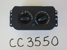 03 04 FORD EXPEDITION CLIMATE CONTROL PANEL TEMP UNIT A/C HEATER HVAC OEM