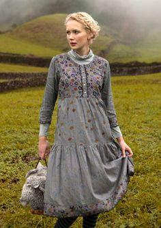 """Fårö"" cotton & viscose dress – Fårö – GUDRUN SJÖDÉN – Webshop, mail order and boutiques | Colourful clothes and home textiles in natural materials."