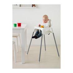 ANTILOP Highchair with safety belt  - IKEA