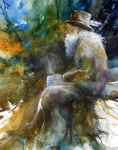 Watercolor Paintings lance johnson | Lance Johnson Paintings……VERY NEAT PICTURE WITH, I'LL BET, A VERY ...