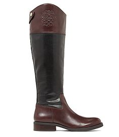 Vince Camuto Fabina Crest Tall Wide Calf Boots #Dillards