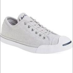 Converse Jack Purcell Wool Sneaker Light Gray