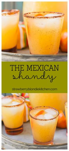 "Easy chillin' is my motto this summertime with a little help from The Mexican Shandy. Light and refreshing, this cocktail will have you ""finding the beach"" in no time! 