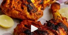 Mediaa Adalah Blog Kesehatan Semoga Bisa membantu Anda Menumakan Solusi Kesehata Best Garlic Bread Recipe, Bread Recipes, Marinated Chicken, Roasted Chicken, Green Chutney, Garlic Paste, Lemon Slice, Garam Masala, Oven