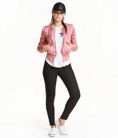 Slim-fit Pants | Black | Ladies | H&M US