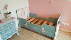 Steigerhout bed restyled