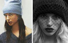 Shine Trim: DIY Inspiration: Veiled Beanie