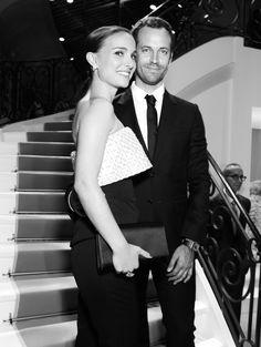 Natalie Portman et Benjamin Millepied au Grand Palais