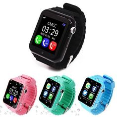 (Sponsored Link) Bluetooth GPS Smartwatch Waterproof GPS Locator Tracker Support SIM for Kids Best Kids Watches, Cool Watches, Wrist Watches, Sport Watches, Sims For Kids, Phone Watch For Kids, Smartwatch Waterproof, Girls Wrist Watch, Best Sports Watch