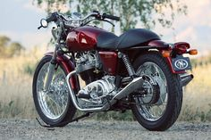 Norton. Love, love, love the Norton 850 Commando! There will always be a warm place in my heart for this one.