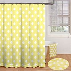 image of Polly Polka Dot 72-Inch x 72-Inch Shower Curtain