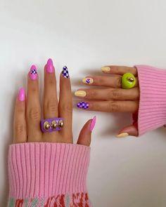 Cute Acrylic Nails, Acrylic Nail Designs, Cute Nails, Pretty Nails, Nail Art Designs, Nail Swag, Hair And Nails, My Nails, Nails Only
